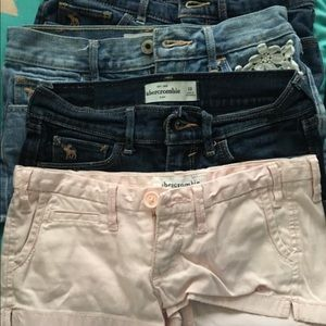 Abercrombie and Fitch Junior sizes